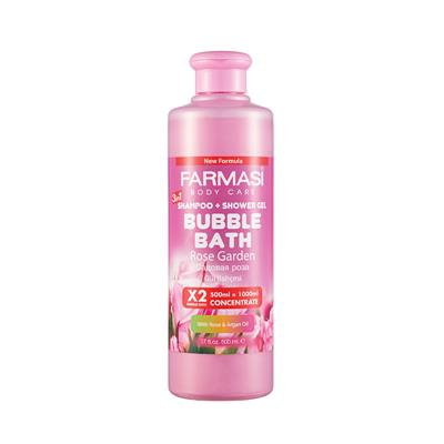 FARMASİ BUBBLE BATH GÜL BAHÇESİ 500 ML