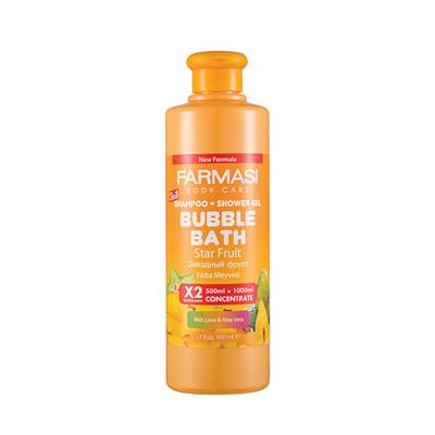 FARMASİ BUBBLE BATH YILDIZ MEYVESİ 500 ML