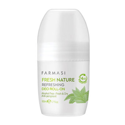 FARMASİ FRESH NATURE ROLL ON 50 ML