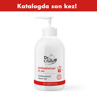 FARMASI DR. C. TUNA ANTİBAKTERİYEL EL JELİ 300 ML