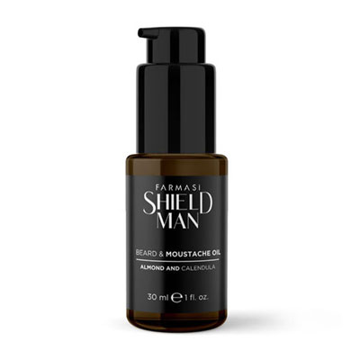 FARMASİ SHIELD MAN SAKAL VE BIYIK BAKIM YAĞI 30 ML