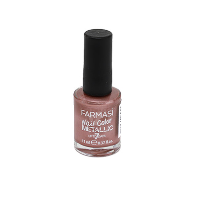 FARMASI NAIL COLOR METALLIC 11 ML-MTL 19 APPLE PIE