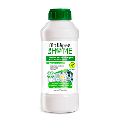 FARMASI MR WIPES KONSANTRE JEL BULAŞIK MAKİNESİ DETERJANI 500 ML