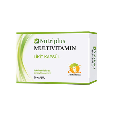 NUTRIPLUS MULTİVİTAMİN 30 PCS