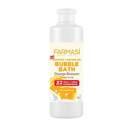 FARMASİ BUBBLE BATH ORANGE BLOSSOM PORTAKAL ÇİÇEĞİ 500 ML