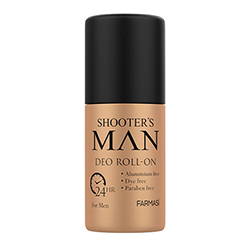 FARMASİ SHOOTERS MAN ERKEK ROLL-ON DEODORANT 50 ML