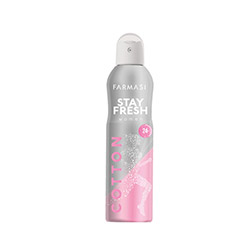 FARMASI STAY FRESH COTTON DEODORANT FOR WOMEN 150 ML