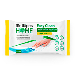 MR WIPES EASY CLEAN TEMİZLEME MENDİLİ LİMON KOKULU 40 ADET