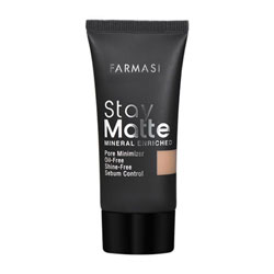FARMASI MAKE UP STAY MATTE FONDÖTEN 30 ML LIGHT IVORY- 01
